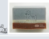 Rooster / Acrylic Soap Stamp ( Soap Republic )