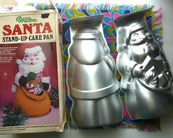 1985 Wilton Santa Stand Up Cake Pan