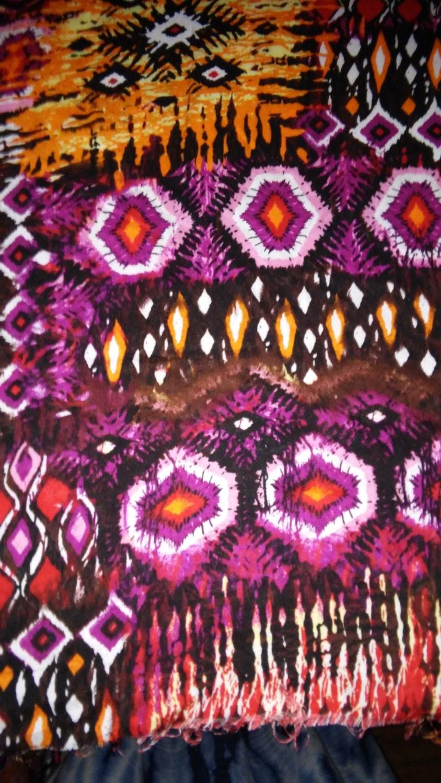 New Ethnic/Tribal Print fabric Sold per half yard Challi Print