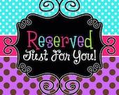 Reserved for Lovetoshop12