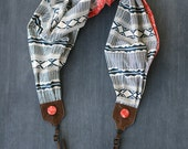 scarf camera strap - arizona red