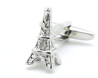 Eiffel Tower Cufflinks