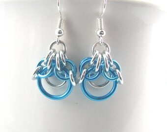 Demeter Chainmaille Earrings