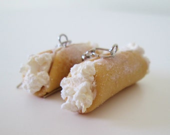 Cannoli Earrings