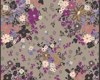 One Yard Femme Metale Steel: Rock n Romance by Pat Bravo for Art Gallery Fabrics