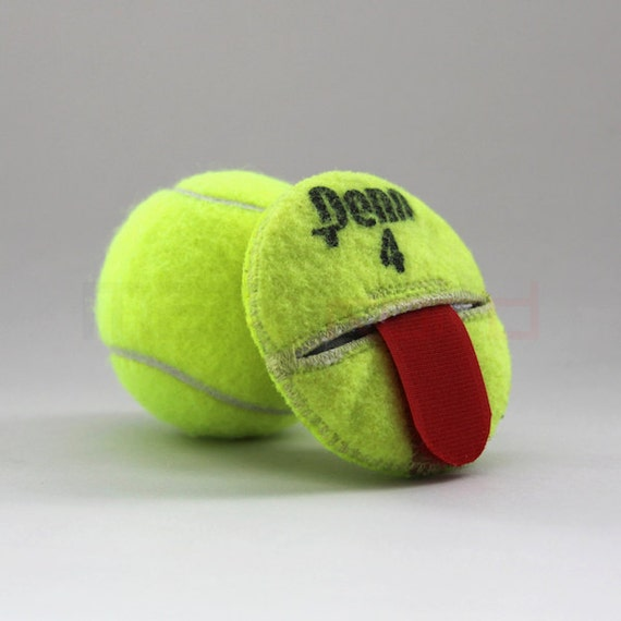 Handmade recycled tennis ball round compact by manikordstudio - Can tennis balls be recycled ...