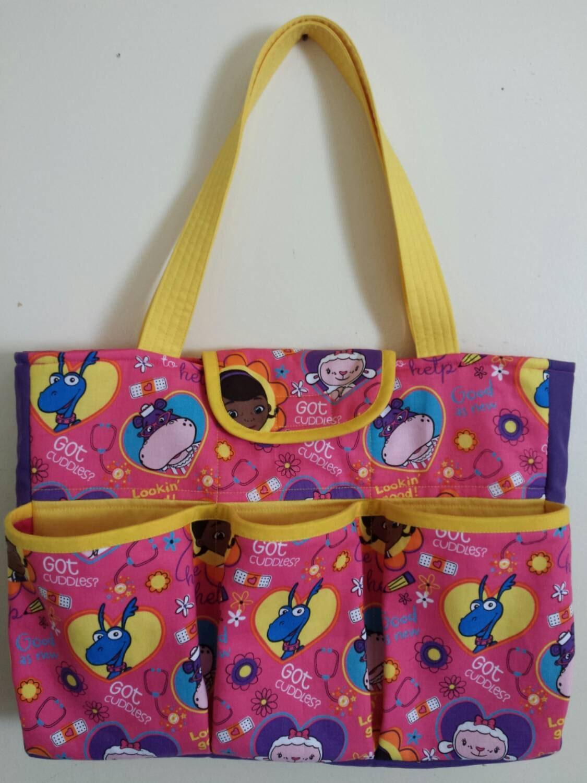 Doc Mcstuffins bag tote diaper bag purse Doc Mcstuffins Bag
