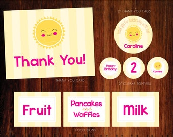 Rise and Shine Printable Party Pack - DIY