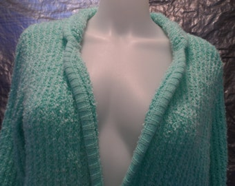 Vintage Mint 70's Cardigan Sweater M/L