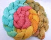 Steam Age on Cheviot Wool Fiber