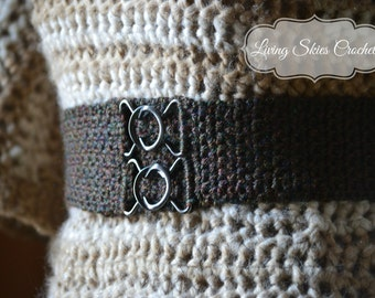 Tabitha Belt Crochet Pattern