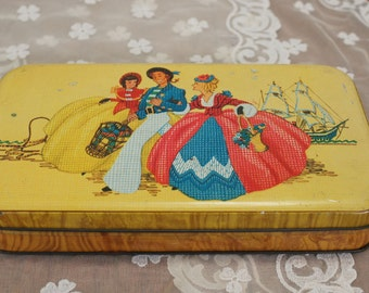 Vintage Fillerys Toffees Tin Made In England