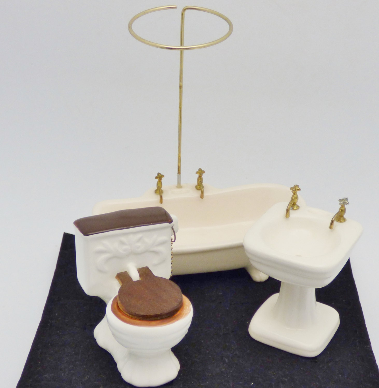 New Vintage Porcelain Bathroom Wall Sconce Light Fixture Porcelier No
