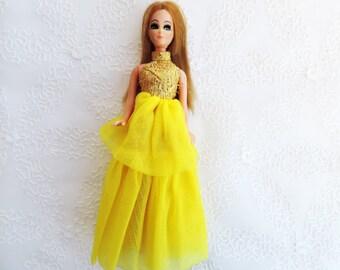 "Dawn Dolls by Topper 60's  -70's Tiny Fashion Dolls 6"" High Free Shipping"