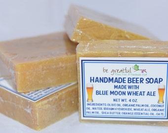 Handmade Wheat Beer Soap