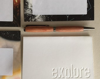 Astronomy Stationery--Letter Writing Set--Outer Space, Solar System, Galaxy--5 Upcycled Envelopes & 5 Folded Cards