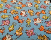 Little  Monsters Fleece Blanket