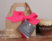 KEEP CALM and bake some cupcakes -- Bridal Shower Favors -- Cupcake Mix Favors -- Cupcake Favors -- Minimum order is 6