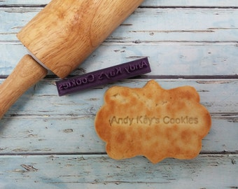 Cookie Stamp Cookie Stamper - Stamp your business name on your cookie