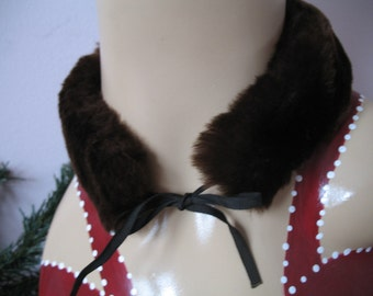 1950's Faux Fur Neck Collar, choker