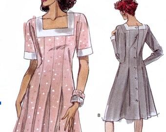 Vogue 7528 Misses' Dress Sewing Pattern - Uncut - Size 8, 10, 12