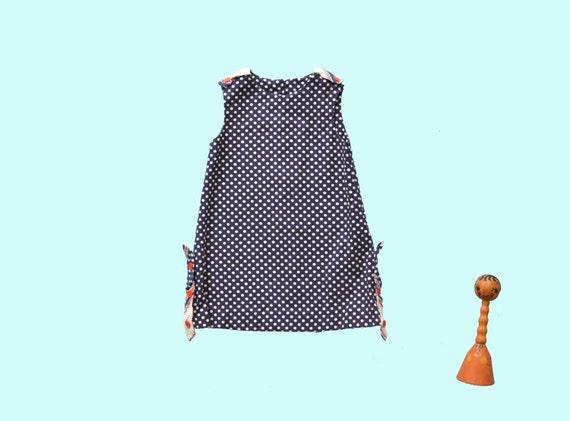 1950s Childs Polka Dot Dress