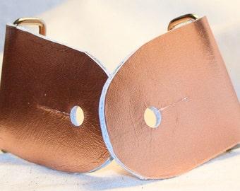 "2"" Metallic Peach Guitar Strap Kit"