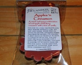 Apples N Cinnamon Soy Wax Tart Melts - 2 Pack - Scented Wax Melts/Soy Tarts/Spicey Scent/Fragrant
