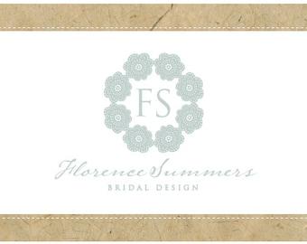 SALE PreDesigned PreMade Custom FLORENCE Logo Design
