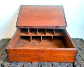 Antique Wooden General Store Cash Register