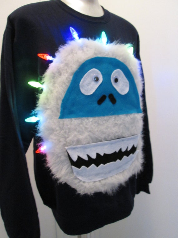 Unavailable listing on etsy for Abominable snowman christmas light decoration