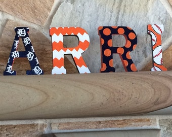 Sports Themed Letters - 5 inches - Standing Letters