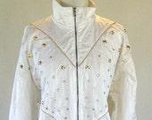 Star Studded ELVIS Style Windbreaker Jacket