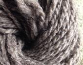 Beige Corriedale wool yarn handmade worsted weight