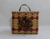 Mail Basket / Wall Basket / Handwoven Basket