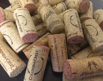 Natural Cork Wine Toppers