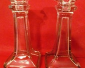 VALENTINESALE Art Deco Style Candlesticks