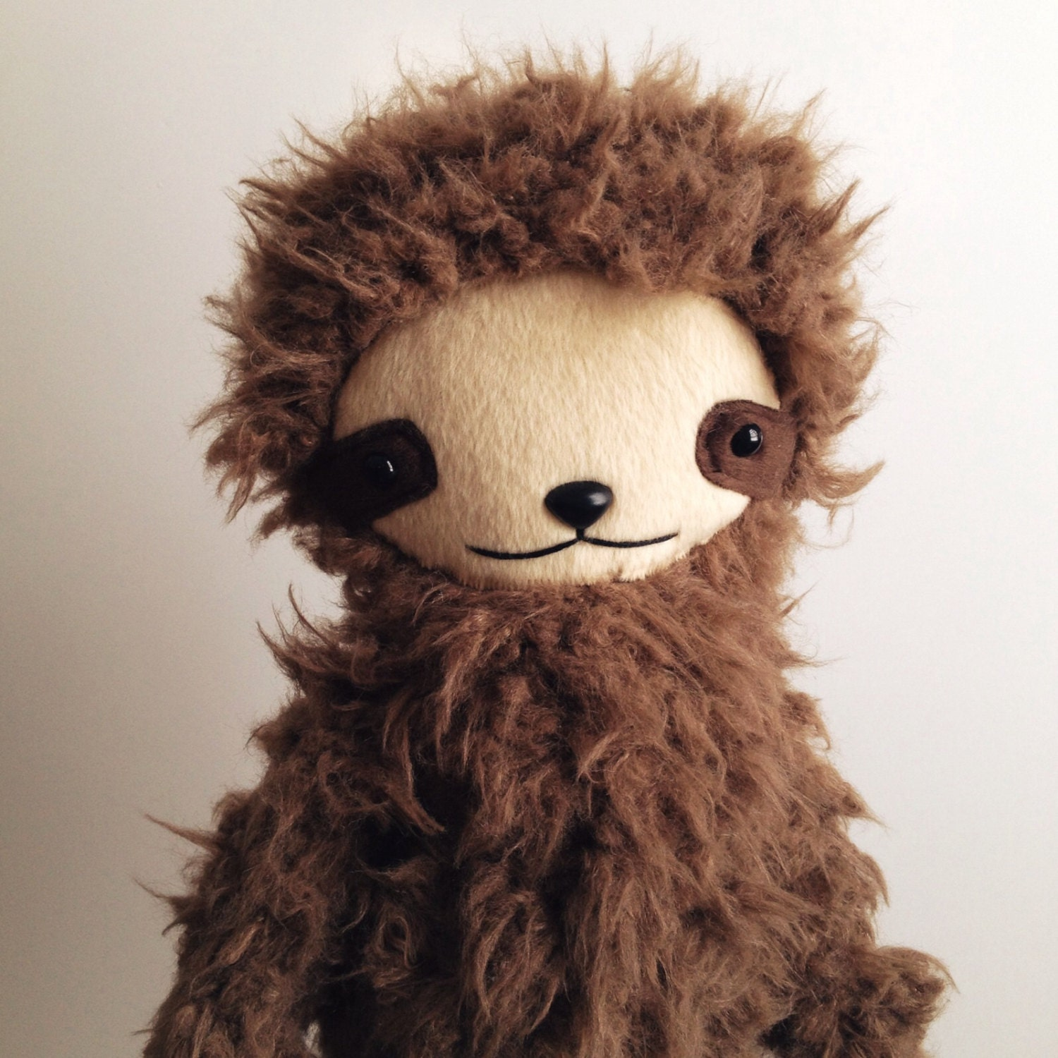 Kawaii Sloth Stuffed Animal Plushie In Brown