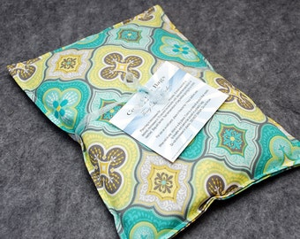 Heating Pad Corn Bag Microwavable - Mosaic, Large Pillow 10 x 14