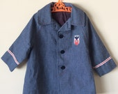 Vintage Toddler Jacket, 2T, military style