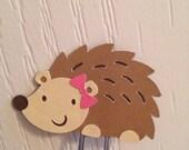 Hedgehog bookmark paper clip