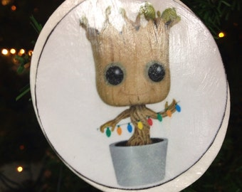 Baby Groot Christmas Ornament