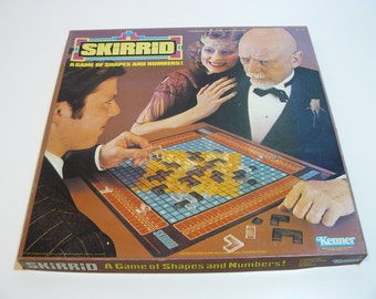 Skirrid - A Game of Shapes and Numbers - Kenner Vintage 1979 Complete