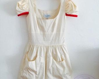 CuTeSY Vintage CaNDySTriPeR DoLLy dress xs/s