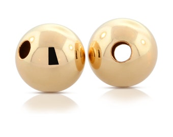14Kt Gold Filled 4mm Bright Beads - 100pcs  - 40% OFF DISCOUNTED PRICE High Quality and Shiny (2142)/5