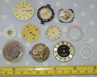 Antique Watch Parts Face Jewelry Supplies (GG)