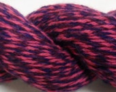Pink, Purple, and Blue Handplied Cashmere 155 Yards