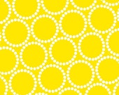 Mini Pearl Bracelets in Yellow by Lizzy House for Andover Fabrics