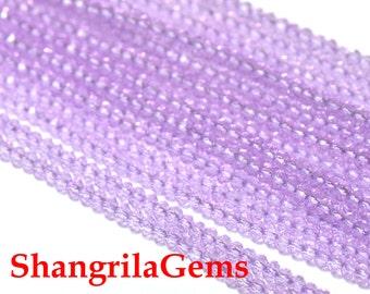 3mm 13.5in purple Mystic Quartz faceted roundelles lilac mauve lavender MYQ02 SALE FROM 22 pounds