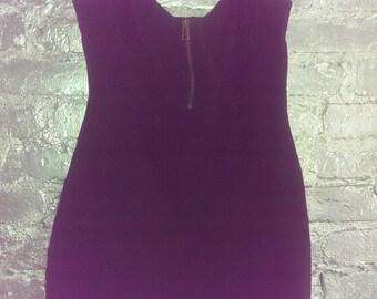 Black Corset Style Summer Bodycon Dress 8